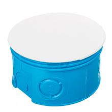 Коробка розподільна для суцільних стін з кришкою поліамід 960°С не горюча 80 мм SMARTBOX BS80SE