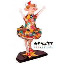 Коллекционная статуэтка корова Dancing Diva