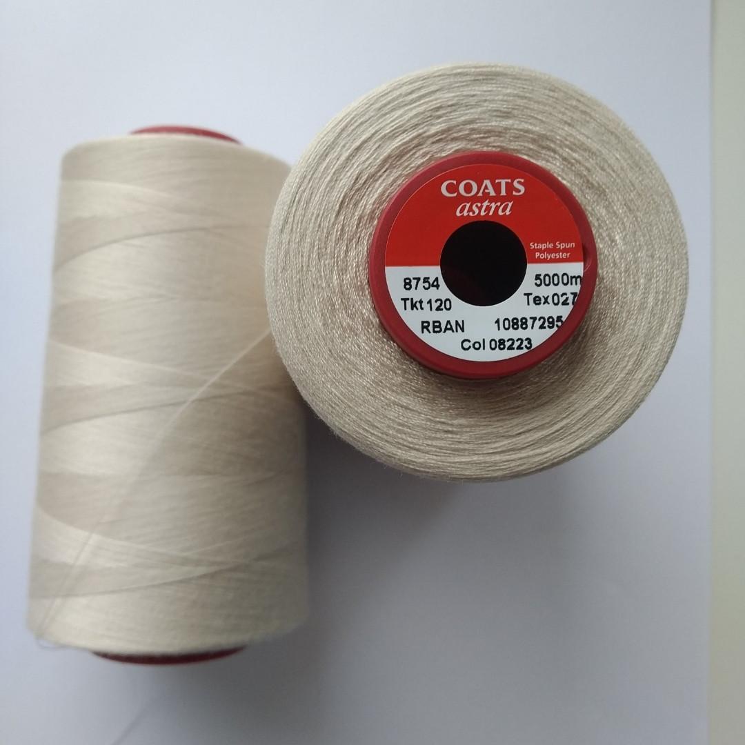 Нитки Coats Astra 08223/ 120, 5000м
