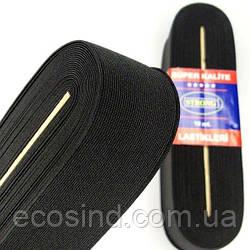 Резинка для одежды широкая STRONG 5см Черная (СТРОНГ-0483)