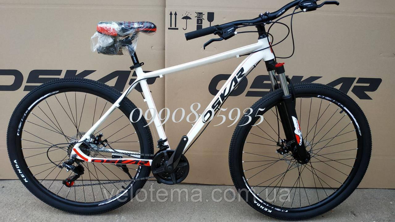 """Велосипед Oskar 29"""" M126 білий"""