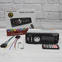 Автомагнітола 1DIN MP3 1782DBT Знімна панель (1USB, 2USB-зарядка, TF card, bluetooth), фото 1