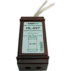 Преобразователь уровня сигнала 2 канальный AWM HL-027
