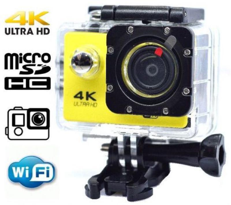 Экшн камера Action Camera 4к V3R WiFi крепление в комплекте+водостойкий кейс для подводной съемки