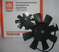 Электровентилятор охлаждения радиатора в сборе ВАЗ 2103-08-09, ГАЗ 3110 <ДК>