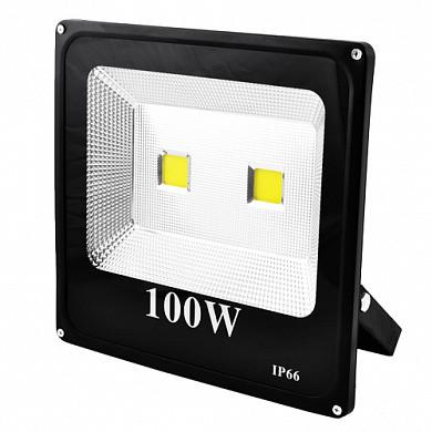 Прожектор SLIM YT-100W 2COB, 9000Lm, IP66 (вологозахист)