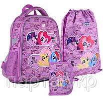 Набор Kite рюкзак + пенал + сумка для обуви  My Little Pony