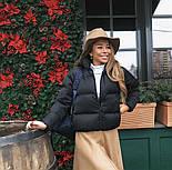 Женская стильная куртка синтепон 200 мод.501, фото 4