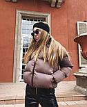 Женская стильная куртка синтепон 200 мод.501, фото 8