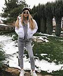 Женская стильная куртка синтепон 200 мод.501, фото 10