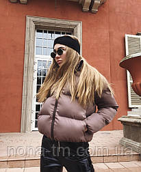 Женская стильная куртка синтепон 200 мод.501