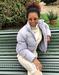 Жіноча стильна куртка синтепон 200 мод.501