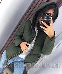 Жіноча стильна демісезонна куртка (Норма і батал)