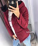 Жіноча стильна демісезонна куртка (Норма і батал), фото 5