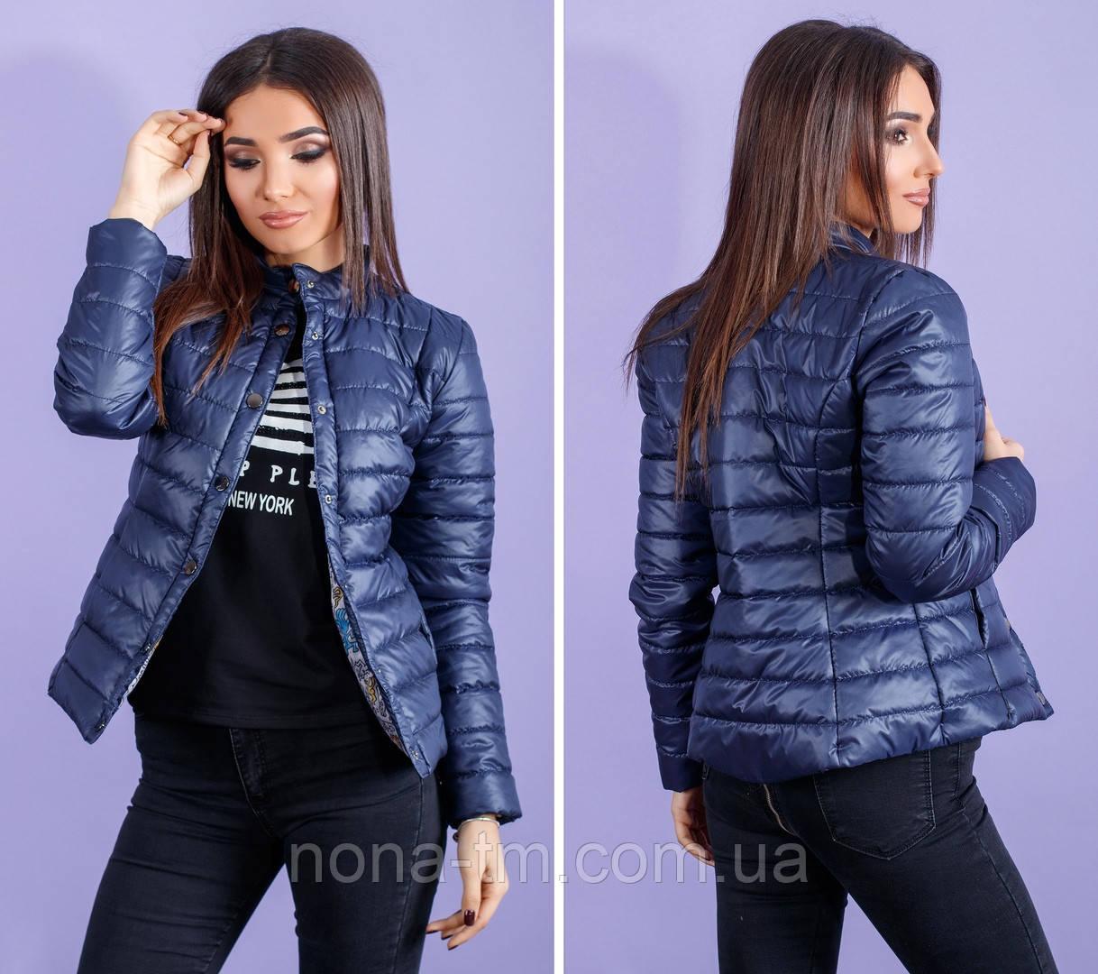 Жіноча куртка на синтепоні (норма і полубатал)