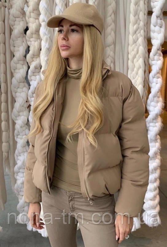 Куртка женская демисезонная в расцветках (Норма)