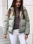 Куртка жіноча демісезонна в кольорах (Норма), фото 6