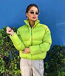 Куртка женская демисезонная в расцветках (Норма), фото 7