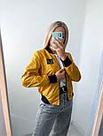 Жіночий бомбер стильний двосторонній в кольорах (Норма), фото 10