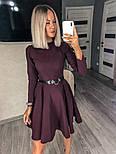 Жіноче плаття однотонне (Норма), фото 5