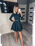 Женское платье однотонное (Норма), фото 6