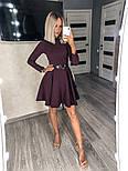 Женское платье однотонное (Норма), фото 8