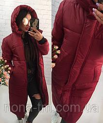 Куртка-пальто мод.246 (плащівка+синтипон 300)