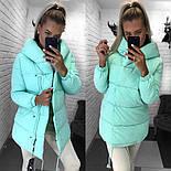 Женская зимняя куртка куртка синтепон 300 мод.505, фото 4