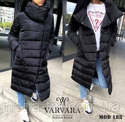 Жіноча модна тепла куртка Норма і батал