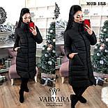 Женская модная теплая куртка Норма и батал, фото 3