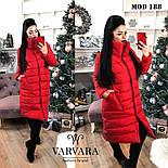 Женская модная теплая куртка Норма и батал, фото 6