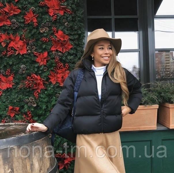 Дута жіноча курточка на синтепоні в кольорах (Норма)