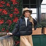 Дута жіноча курточка на синтепоні в кольорах (Норма), фото 3