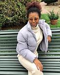 Дута жіноча курточка на синтепоні в кольорах (Норма), фото 9