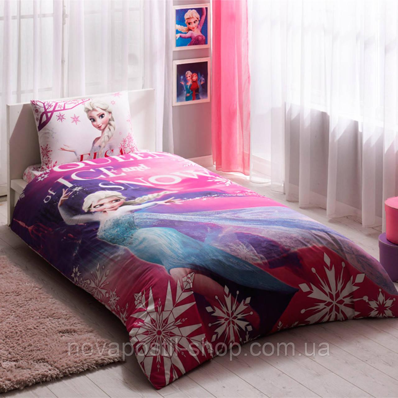 Комплект постельного белья TAC FROZEN ELSA