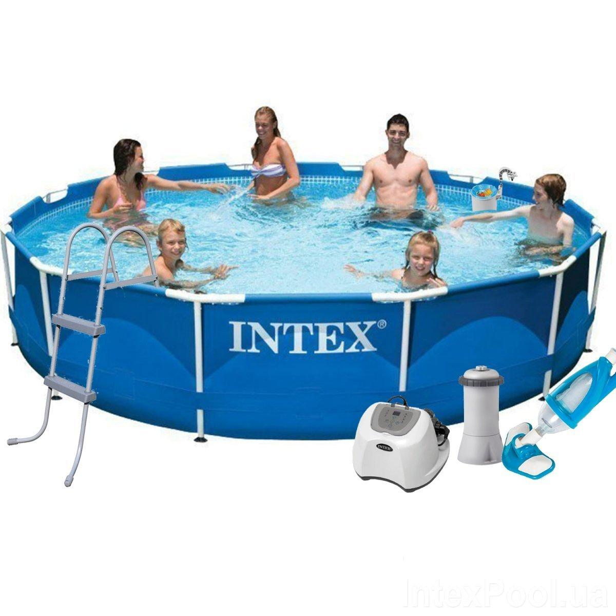 Каркасный бассейн Intex 28210 - 7, 366 x 76 см