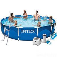 Каркасный бассейн Intex 28210 - 7, 366 x 76 см, фото 1