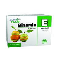Витамин Е  Биологическая активная добавка  Евро Плюс