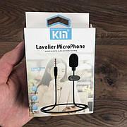 Петличный микрофон KM-001 3.5 мм микрофон петличка для телефона петличка для пк комьютера