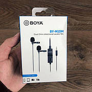 Профессиональный петличный микрофон BOYA BY-M1DM 3.5 мм микрофон петличка для телефона петличка для пк камеры