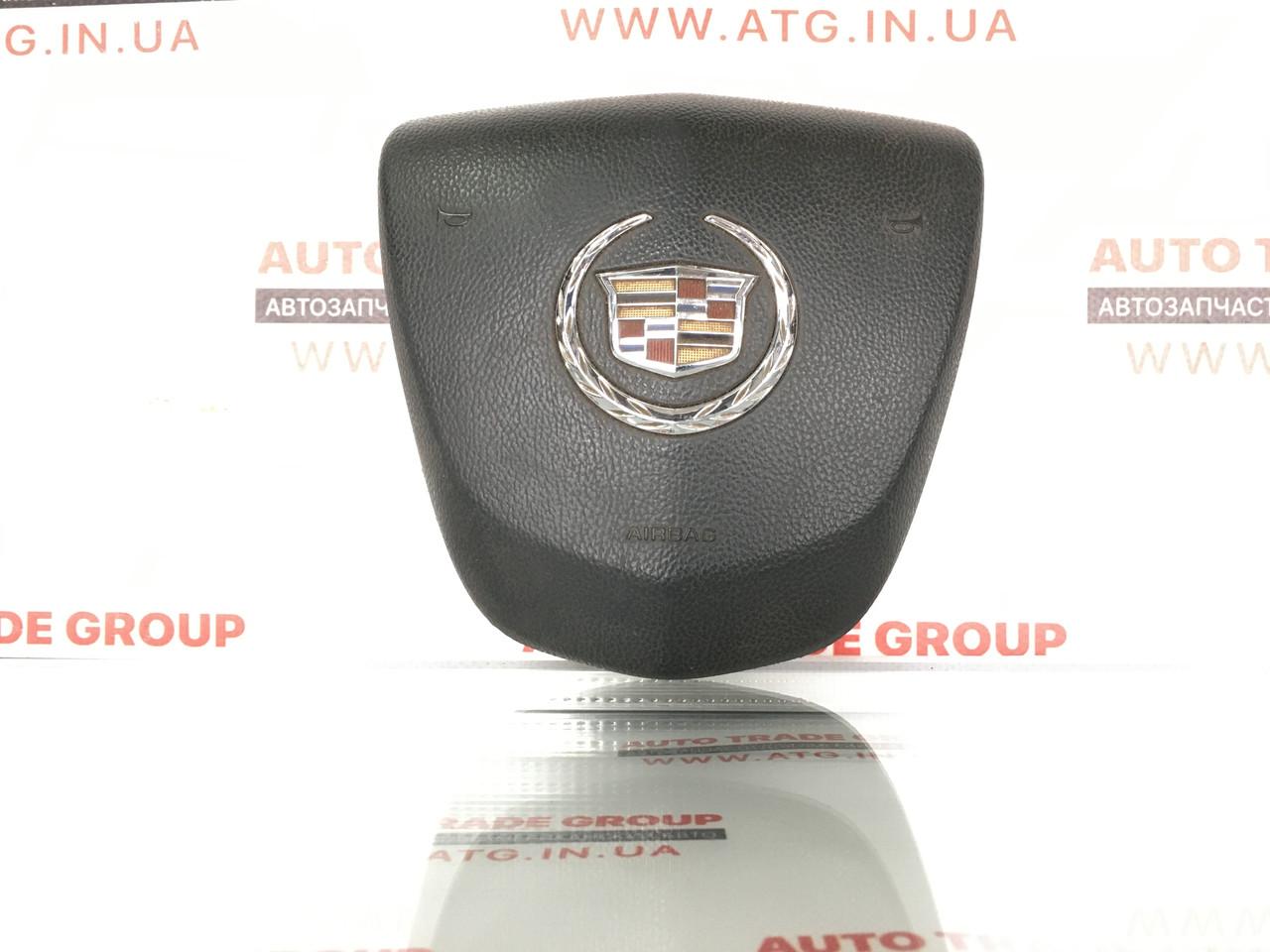 Подушка безопасности airbag в руль водительская Cadillac ATS 13-  23194618