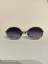 Солнцезащитные очки Модные Стильные 2021 Овальные черные серебристая оправа Градуированные с поляризацией
