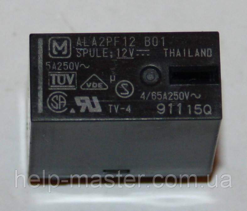 Реле электромеханическое  ALA2PF12;  12VDC
