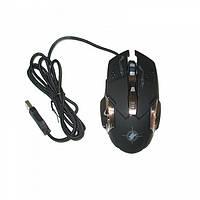 Игровая компьютерная мышь Keywin X6 проводная Чёрная