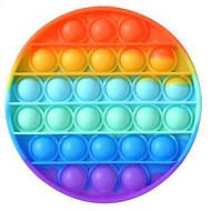 """Іграшка Антистрес Push POP It Bubble Famly Games бульбашкова різнобарвна Поп Іт """"Натисни на міхур"""""""