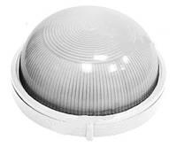 Светильник для ванны влагозащищенный круглый (настенный светильник влагозащищенный круглый) белый 100w E27 IP5