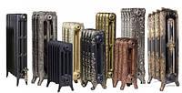 Напольные чугунные дизайн радиаторы