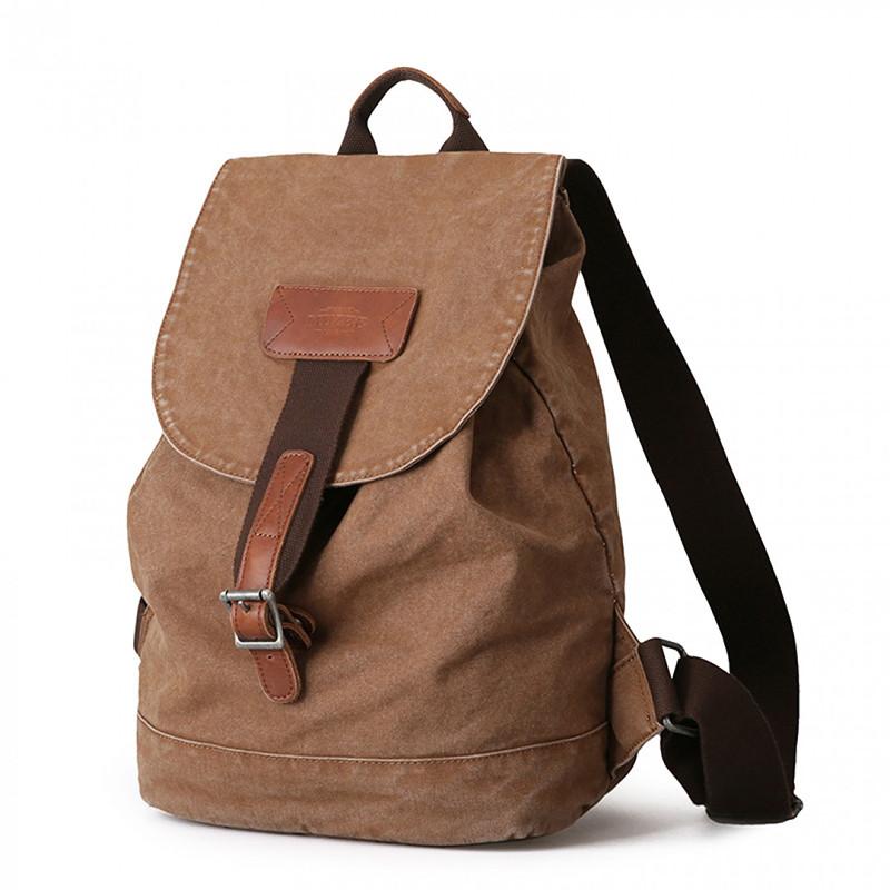 Вінтажний стильний компактний жіночий рюкзак Muzee з відділенням для ноутбука Жіночий рюкзак
