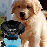 Дорожная поилка - бутылка для собак Aqua Dog Аква Дог 550 мл, фото 2