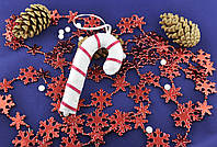 Мягкие новогодние игрушки из фетра ручной работы